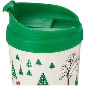 Kate Spade Christmas travel mug